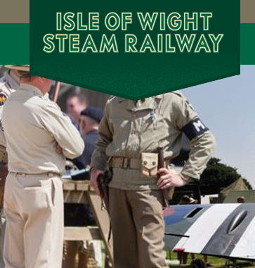 1940's Isle of Wight Steam Weekend @ Isle of Wight Railway Company | Havenstreet | England | United Kingdom